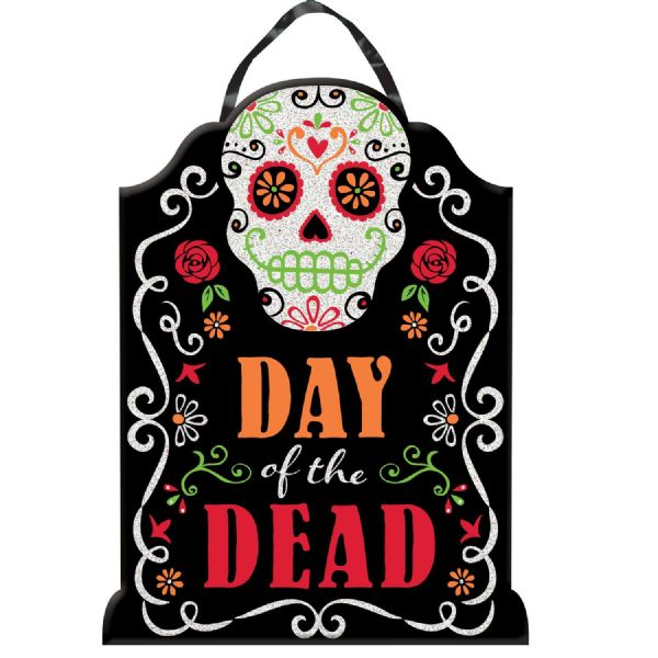 Day of the Dead MDF Sign